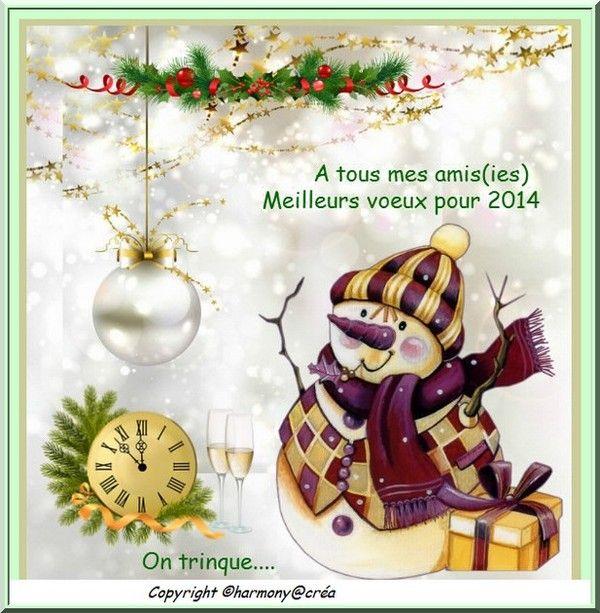mes meilleurs voeux pour 2014