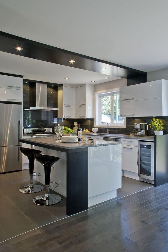 belle cuisine equipee. Black Bedroom Furniture Sets. Home Design Ideas